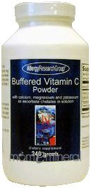 Buffered Vitamin C Pwdr 240gm by Allergy Research Group