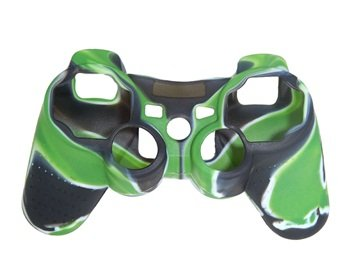 Camouflage Silicone Case for DualShock 3 Wireless Controller (Camouflage Green)