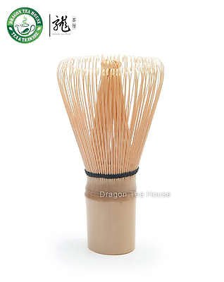 100 Pondate White Bamboo Chasen / Green Matcha Tea Whisk / Made In Japan.