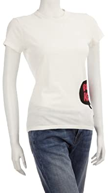 Eastpak Women's Shelby T-Shirt White Bubble EA788C96 Large