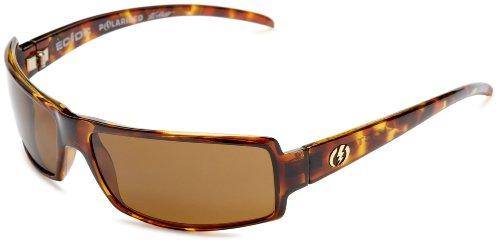Electric Visual Ec/Dc Polarized Sunglasses,Tortoise Shell Frame/Bronze Polarized Lens,One Size