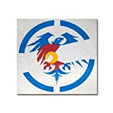 Never Summer Colorado Eagle Dyecut Sticker 6 inch