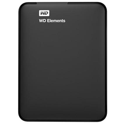 Amazon : WD Elements Portable 1TB USB 3.0 External Hard Drive (Black) @ ₹ 3965/-