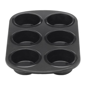 Silicone Solutions Black Muffin Pan - Buy Silicone Solutions Black Muffin Pan - Purchase Silicone Solutions Black Muffin Pan (, Home & Garden, Categories, Kitchen & Dining, Cookware & Baking, Baking, Muffin & Popover Pans)