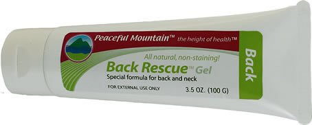 Buy Peaceful Mountain Back & Neck Rescue Gel (3.5 oz.) (Peaceful Mountain, Health & Personal Care, Products, Health Care, Pain Relievers, Rubs & Ointments)