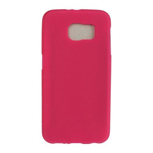 Meet de Etui / Cover / Case / Coque / Protection Coque Étui Case Cover Coque TPU Housse pour Samsung Galaxy S7 (5,1 Zoll) - rouge