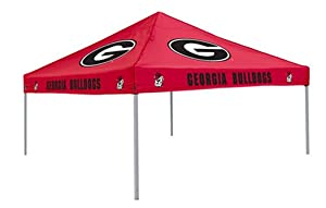 NCAA Georgia Bulldogs 9-Foot x 9-Foot Tailgating Canopy, Red by Logo