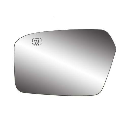 Fit System 33207 Ford/Lincoln/Mercury Left Side Heated Power Replacement Mirror Glass with Backing Plate (Driver Side Mirror Mkz compare prices)