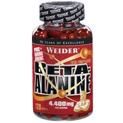 Weider Beta-Alanine, 120 Kapseln, 1er Pack (1 x 155 g)