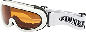 Sinner Runner II Goggle - Shiny White, One Size
