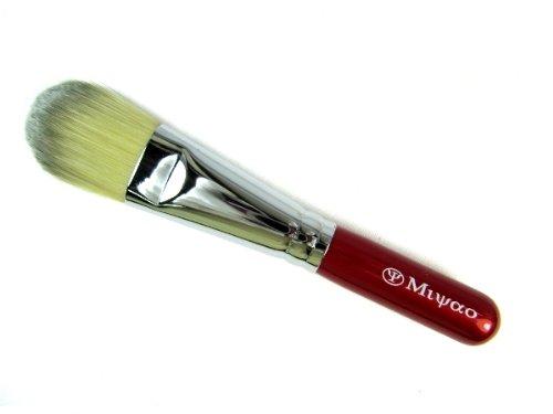 メイクブラシ ファンデーションブラシ PBT 熊野筆・宮尾産業化粧筆・MRシリーズー10