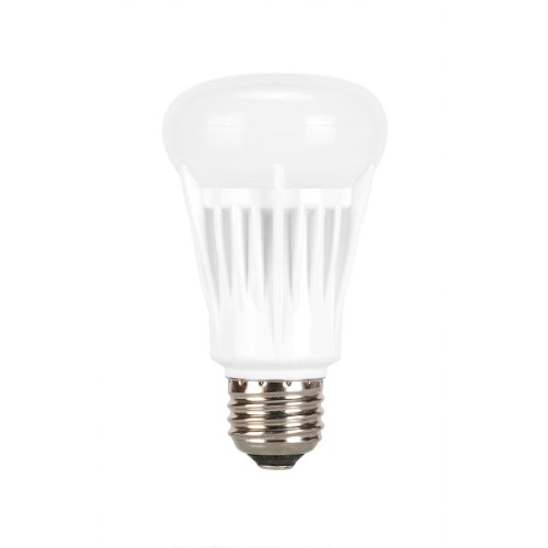 Globe Electric 01802 8-Watt Led For Life Omni Directional A Type Dimmable With Led Medium Base Light Bulb And 40-Watt Equivalent, Soft White