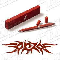 Henna Pen - Ruby Red