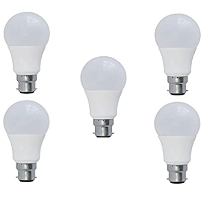 3W-LED-Bulb-(White,-Pack-of-5)