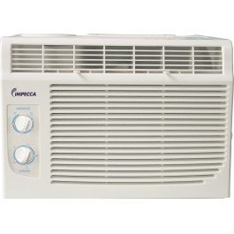 Impecca 6,000 BTU Window Air Conditioner with Mechanical Controls 9.7 EER Air Conditioners