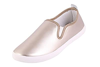 Globalite Women's Casual Shoes Gabrila Silver White GSC1126 UK/UN
