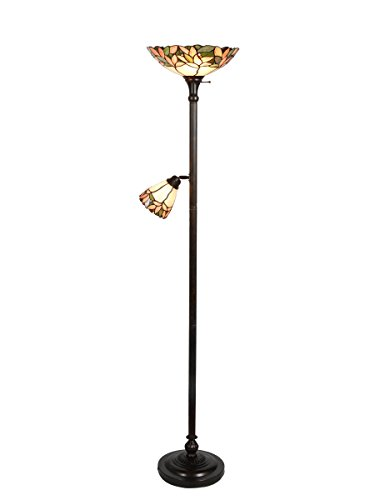 Dale Tiffany Ftr10003 Crystal Leaf Torchiere Office Store