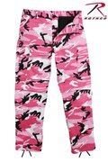 Rothco Pink Camo B.D.U. Pants - Poly Cotton Twill Material - Size Xl
