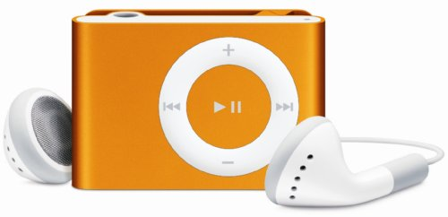 Apple iPod shuffle 1 GB Orange (2nd Generation) OLD MODEL