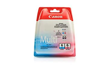 Canon I 9100 (BCI-6 PC / 4709 A 018) - original - 2 x Inkcartridge multi pack photocyan photomagenta - 280 Pages - 13ml