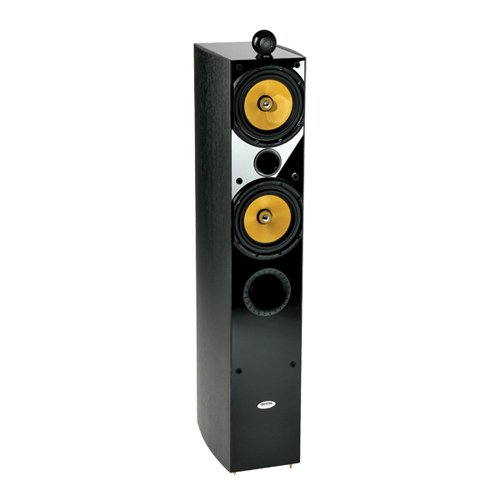 Crystal Acoustics Tx-T2 Thx® Ultra2 Certified Special Edition Stereo Front Tower Speakers (1 Pair)-Black Gloss & Black Ash
