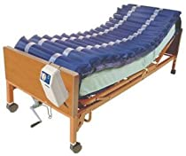 "Hot Sale Med-Aire Alternating Pressure Mattress Overlay System with Low Air Loss 36"" x 80"" x 5"""