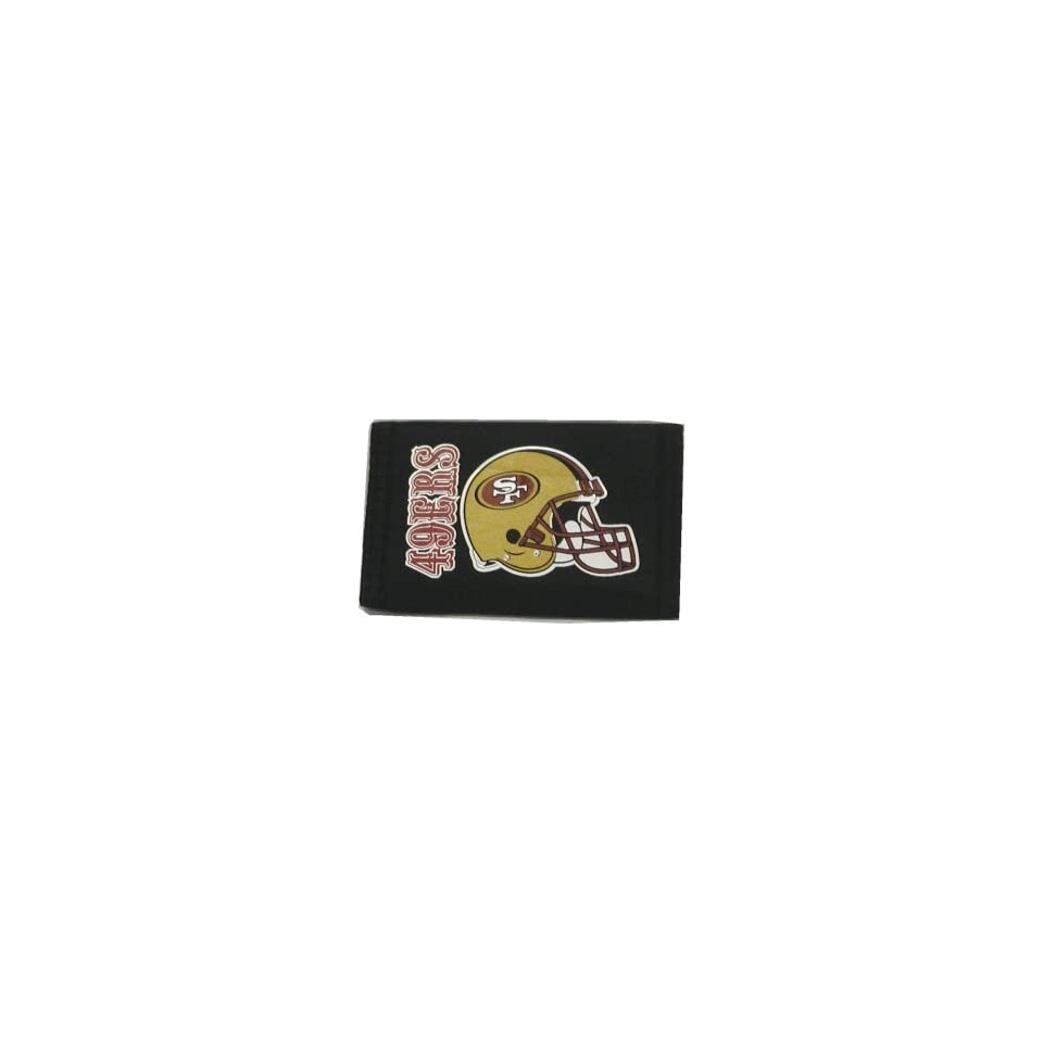 NFL SAN FRANCISCO 49ers FOOTBALL LOGO WALLET