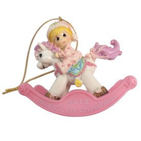 Baby Girl Rocking Horse back-623401