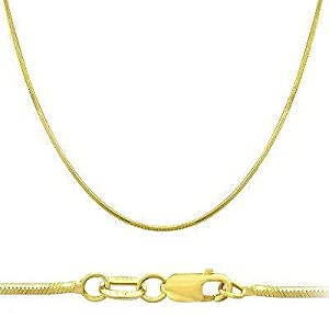 14kt Gold Filled Miz Pah Pendant with 24 Gold Plated Stainless Steel Heavy Curb Chain.