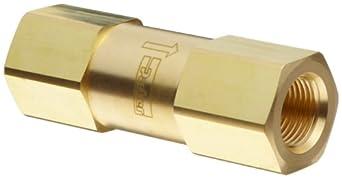 Parker C Series Brass Check Valve, 5 psi Cracking Pressure, NPT Female