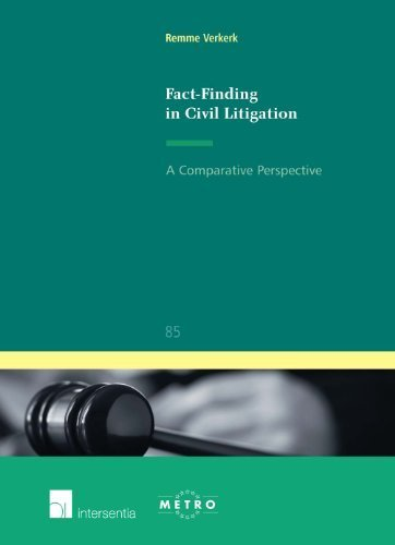 Fact-Finding in Civil Litigation: A Comparative Perspective (Ius Commune Europaeum) by Verkerk, Remme (2010) Paperback PDF