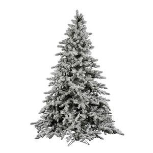 Vickerman 9 ft. Flocked Utica Fir Christmas Tree