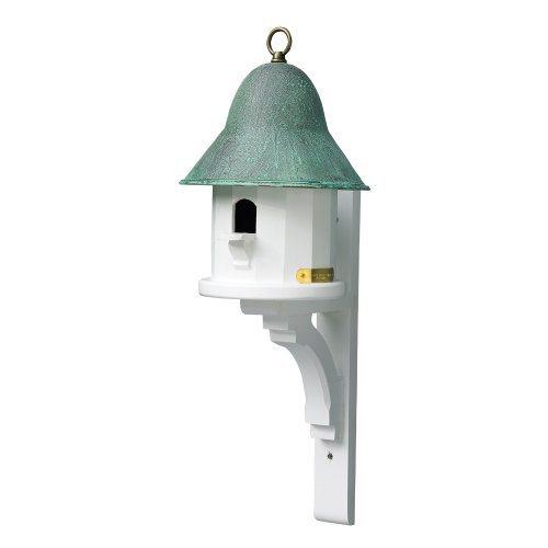 Lazy Hill Farm Designs 999134 Bird House Bracket White Solid Cellular Vinyl