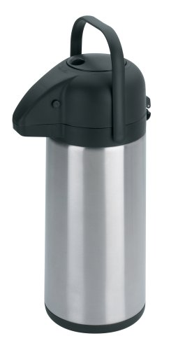 Trudeau Apollo 2 1/5-Liter Stainless Steel Pump Pot, Satin Finish