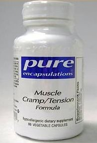 Pure Encapsulations Muscle Cramp/Tension Formula - 60 Capsules