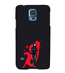 EPICCASE Gantz Girl Mobile Back Case Cover For Samsung Galaxy S5 (Designer Case)