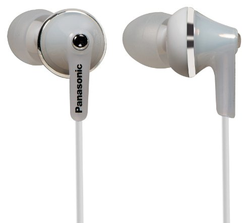Panasonic Rp-Hje190E-W Deep Bass Fit In Ear Headphone - White