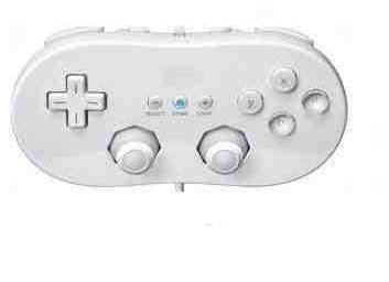 Classic Controller for Nintendo Wii White