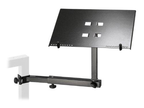 stands supports et pieds de clavier konig meyer support pour ordinateur portable fixer sur. Black Bedroom Furniture Sets. Home Design Ideas
