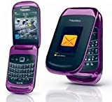 31K7I5x4%2B8L. SL160  BlackBerry Style 9670 No Contract QWERTY Flip RIM Purple Smartphone Used Sprint
