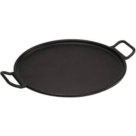 Cast Iron Pizza Pan With Recipe Card, Natural Healthy Cooking. (Pizza Recipe Cards compare prices)