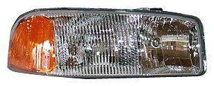 TYC 20-5567-00 GMC Passenger Side Headlight Assembly (Headlight Assembly Gmc Yukon compare prices)