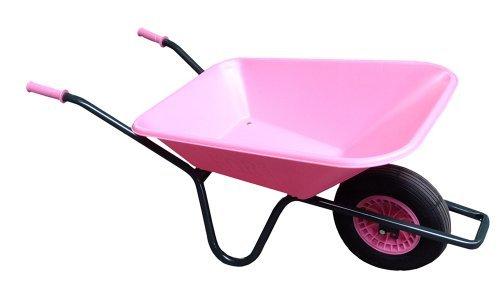 Frauenschubkarre 85l Farbe pink