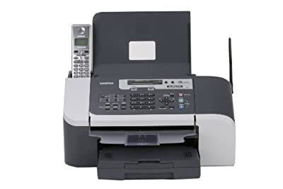 Brother IntelliFax-1960c Color Inkjet Fax with 5.8 GHz Cordless Handset