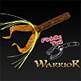 Fox Rage Warrior Fiddle Tail Gold Glitter 8cm 3.1