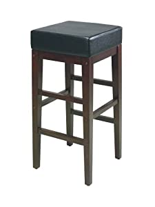 Home Star Metro Stools 30-Inch Square Bar Stool by Home Star