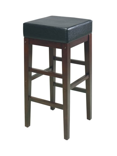 Home Star Metro Stools 30-Inch Square Bar Stool