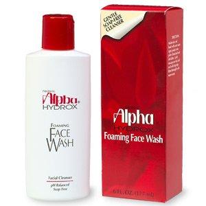 Alpha Hydrox Foaming Face Wash - 6 fl oz