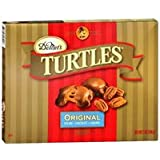 Demet's Turtles Caramel Nut Clusters - Original Pecan Chocolate Caramel 6.4oz 181g (Pack of 2)