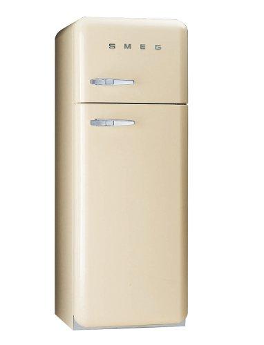 Bilder von Smeg FAB30PS7 Kühlschrank / A+ / 168 cm Höhe / 266 kWh/Jahr / 242 L Kühlteil / 68 L Gefrierteil / creme, linksanschlag